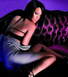 Rihanna in marlies dekkers