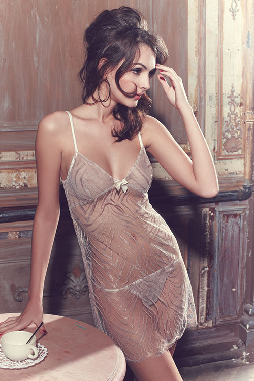 Eleonora chemise lifestyle by les jupons de tess at fox & rose