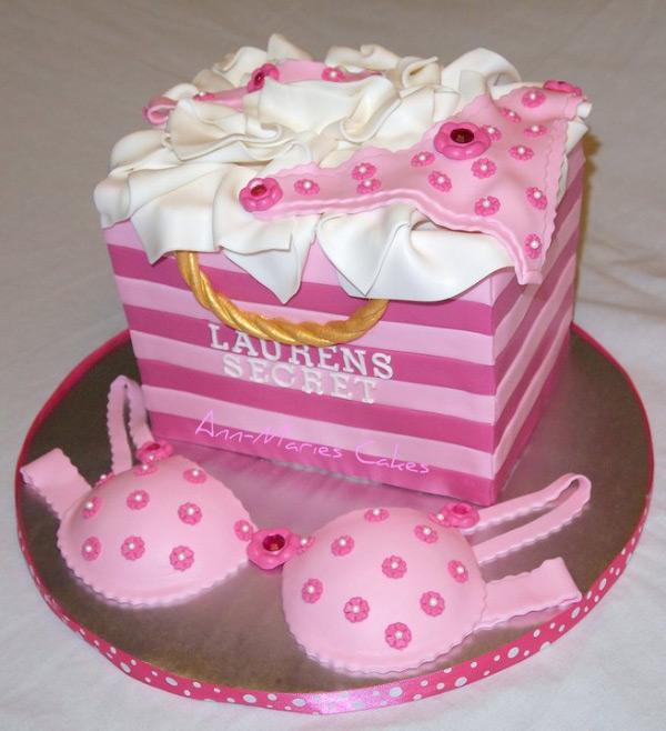 Lingerie Cake
