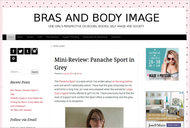 Bras and Body Image