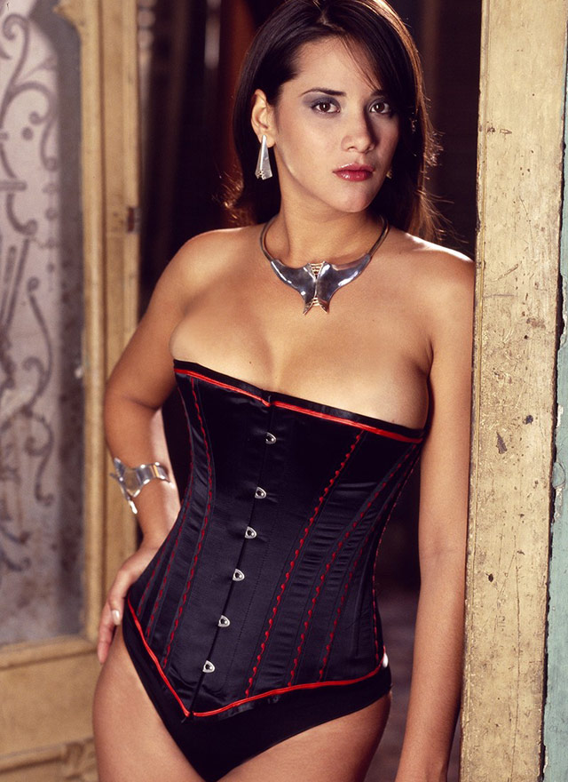 Essence Black Corset by Vollers
