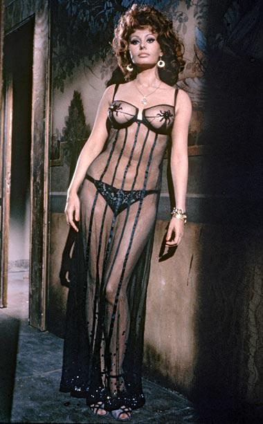Sophia Loren in Marriage Italian Style