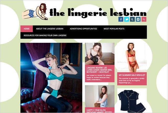 The Lingerie Lesbian