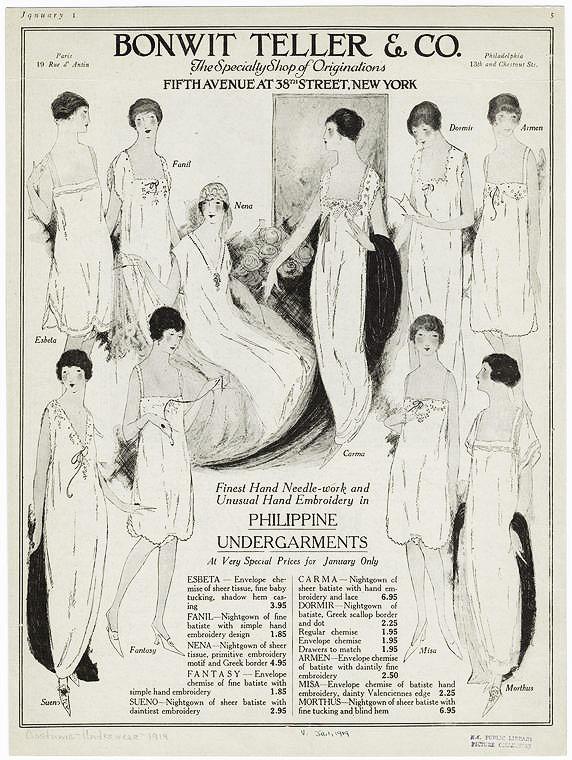 1919 Nightwear