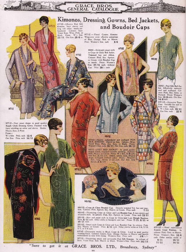 1920s kimonos