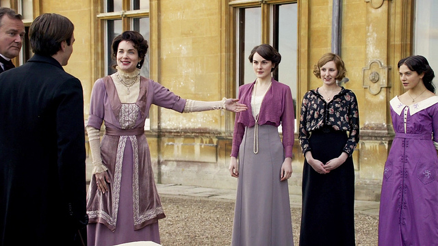 Downton Abbey Series 1 Costumes