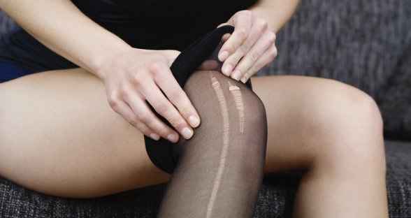 Laddered Stockings