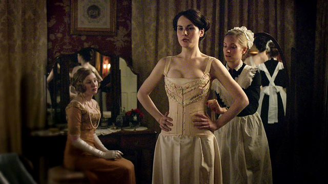 Lady Mary in a corset - Series 1