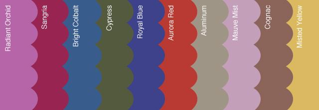 Pantone AW14 Colours