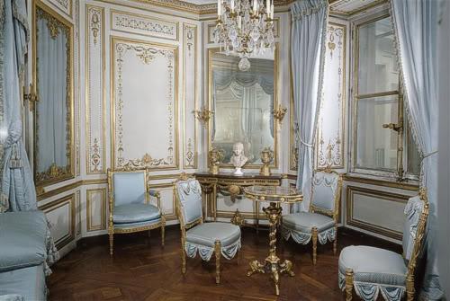 Marie Antoinette's private chamber