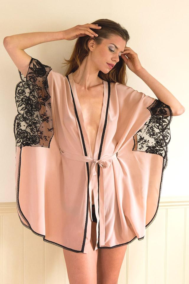 Shell Belle Couture Room Service Kimono