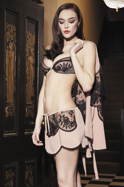 Pleasing Soire Shorty and Bra by Shell Belle Couture