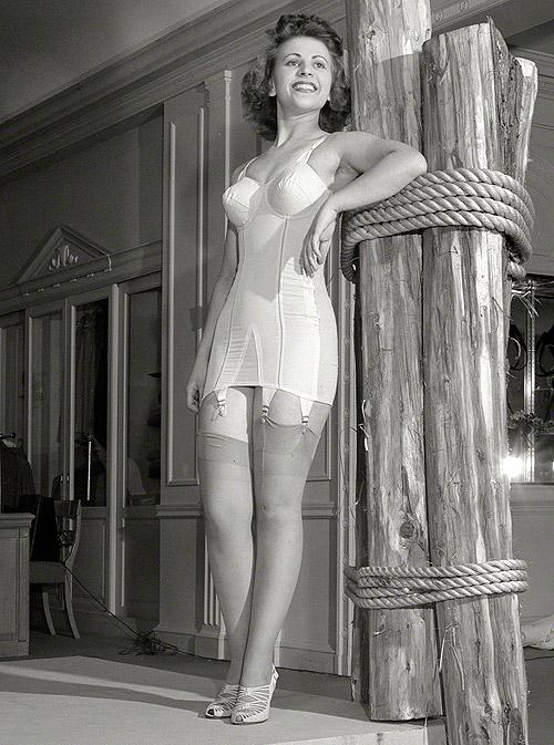 1940s corselette