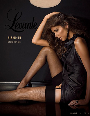 Levante Fishnet Stockings by Levante