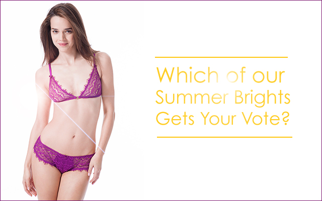 Summer Brights Lingerie at Fox and Rose