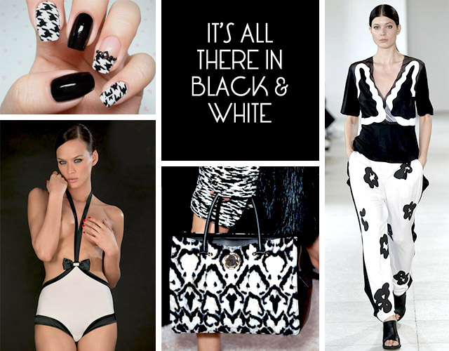 Black and White Trend 2015