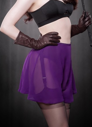 Purple Elle Knicker by Kiss Me Deadly